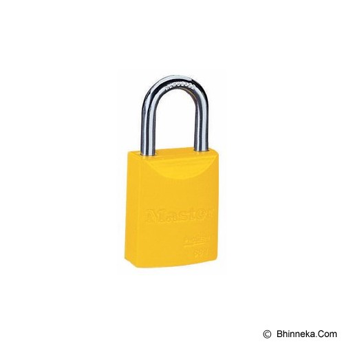 MASTER LOCK Powder Coated Aluminium [6835] - Yellow - Kunci Gembok